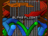 Screenshot Amiga Demo: Alpha Flight | Blitter Madness