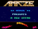 Screenshot Amiga Demo: Amaze | Intro