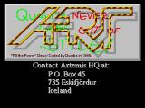 Screenshot Amiga Demo: Artemis | Fill the Power