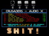 Screenshot Amiga Demo: Crusaders | Audio X