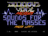Screenshot Amiga Demo: Delicious Vinys | Sounds for the masses