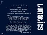 Screenshot Amiga Demo: Lunatic | Mintro