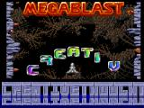 Screenshot Amiga Demo: Megablast | Demo