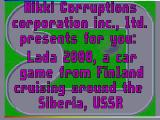 Screenshot Amiga Demo: Nikki Corruptions | Ultimate Lada Race