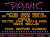 Screenshot Amiga Demo: Panic | 1000 Wasted Dreams