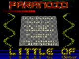 Screenshot Amiga Demo: Paranoid | Demo