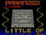 Screenshot Amiga Demo: Paranoid | Demo