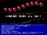 Screenshot Amiga Demo: Possessed | Mega Mon V1.5 Intro