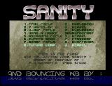 Screenshot Amiga Demo: Sanity | Blahblah #1