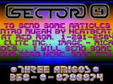 Screenshot Amiga Demo: Sector 4 | Copperintro