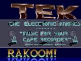 Screenshot Amiga Demo: The Electronic Knights   Music for your taperecorder
