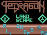 Screenshot Amiga Demo: Tetragon | Landscape