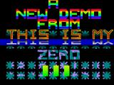 Screenshot Amiga Demo: Zero | Demo